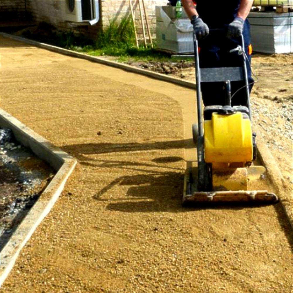 Виброплита для тротуарной плитки — принципиальная схема для самостоятельной сборки