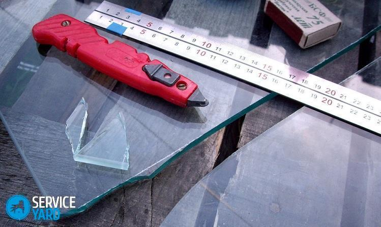 Как просто резать стекло в домашних условиях своими руками стеклорезом