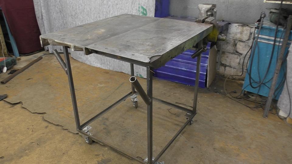 Сварочный стол своими руками: чертежи мощного поворотного сборочно сварочного стола