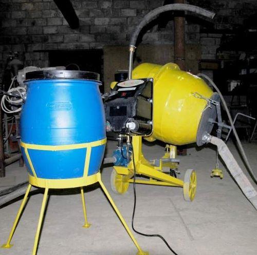 Оборудование для пенобетона: различия домашнего и заводского производства