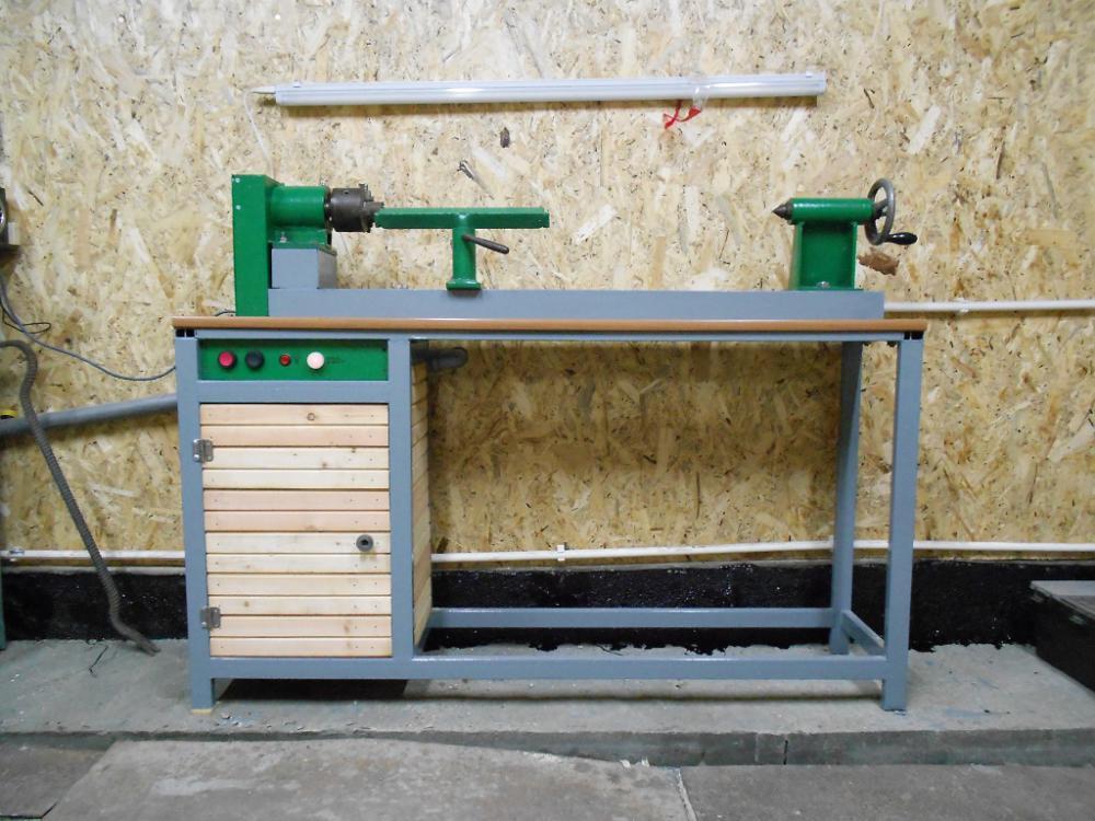 Конструктивные особенности токарного станка по дереву с копиром: как изготовить его своими руками