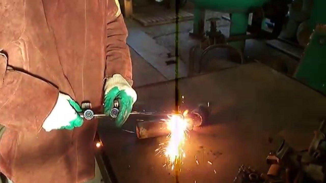 Как пользоваться газовым резаком: резка металла