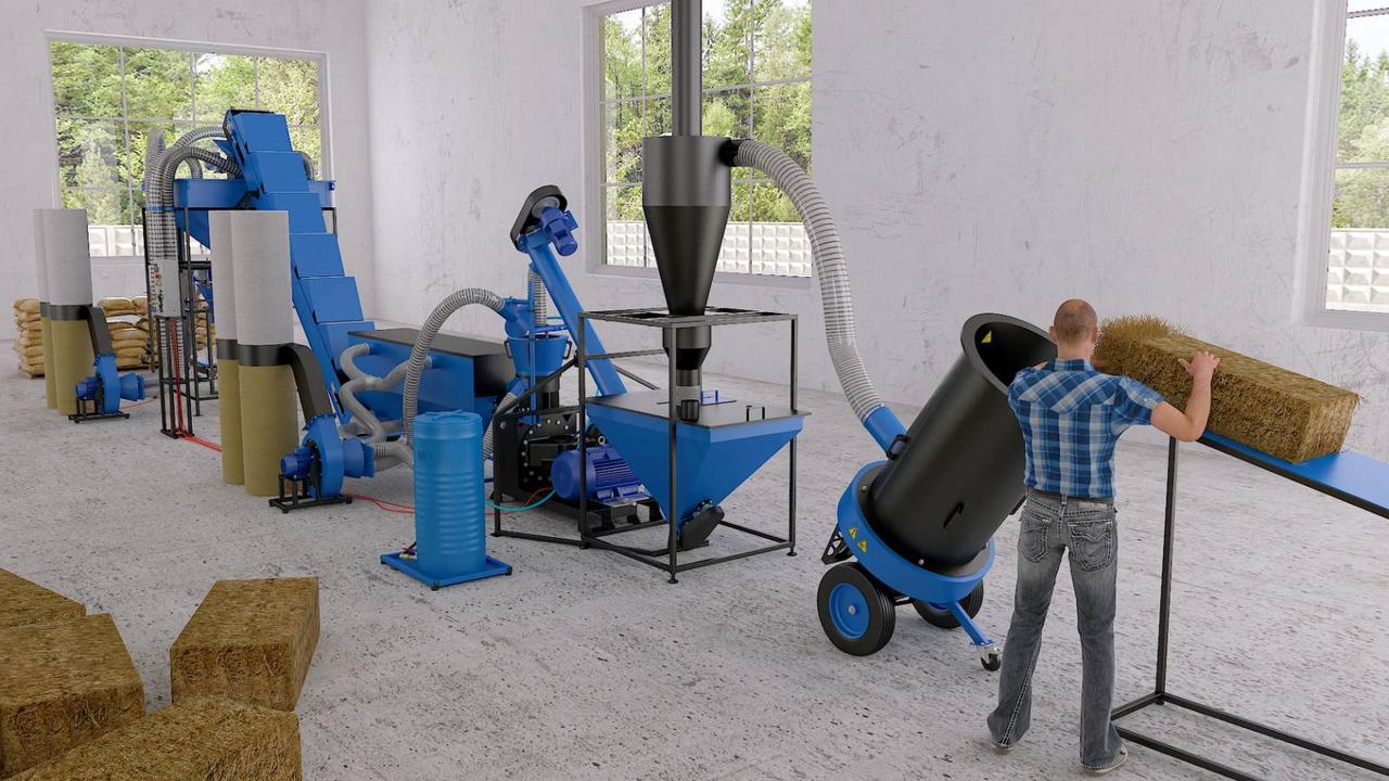 Оборудование для промышленного и самостоятельного производства пеллет