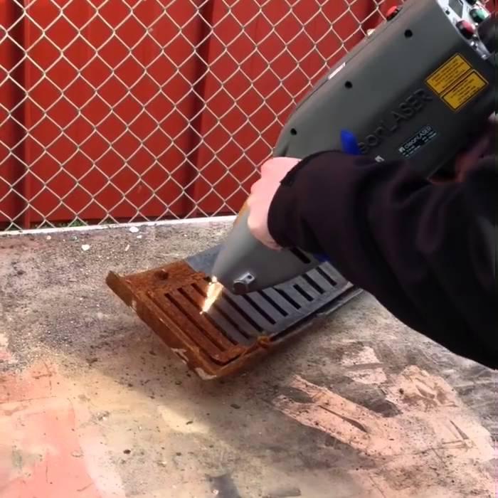 Лазерная очистка металла: устройства для удаления ржавчины на металле, выбираем пескоструй-очиститель с лазером