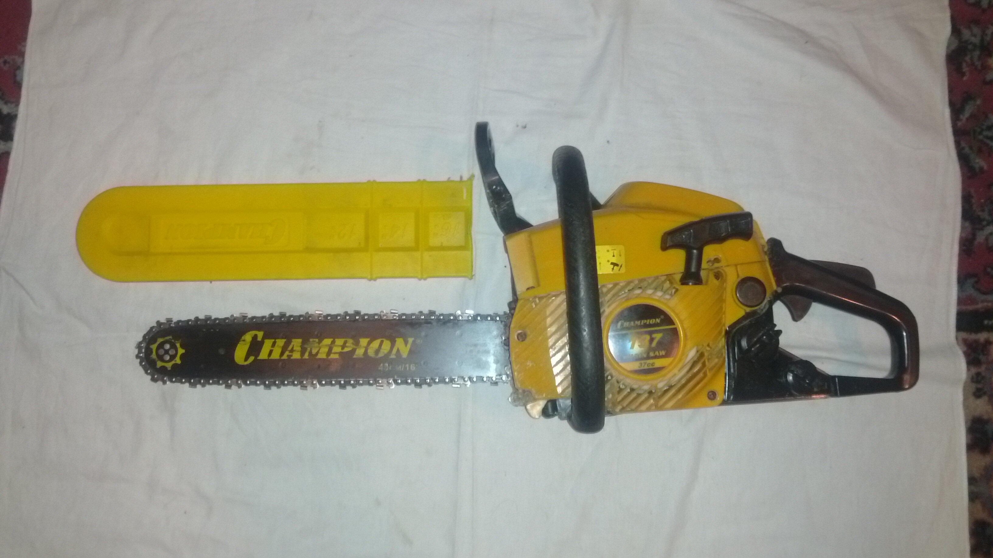 Бензопилы чемпион (champion) — устройство, уход, модельный ряд