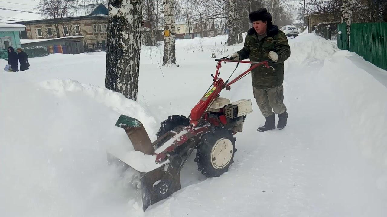 Самодельный снегоуборщик для мотоблока своими руками: чертежи, видео