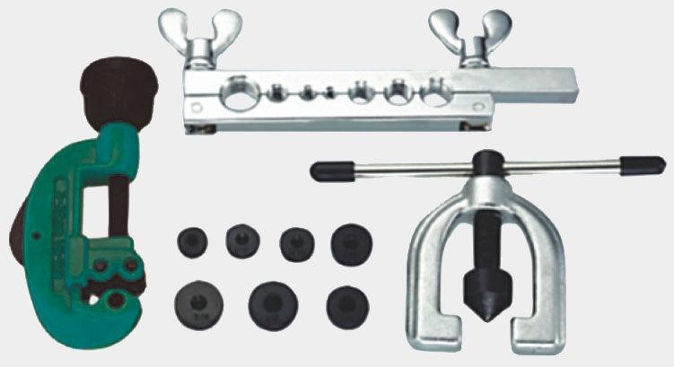 Приспособления и инструменты для развальцовки медных труб