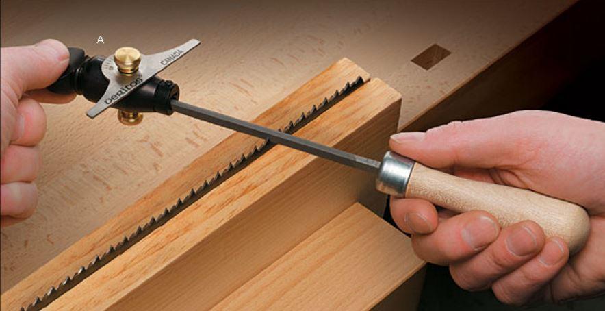 Как можно наточить ножовку в домашних условиях?
