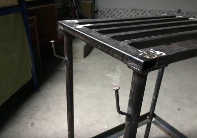 Изготовление сварочного стола из профильной трубы своими руками