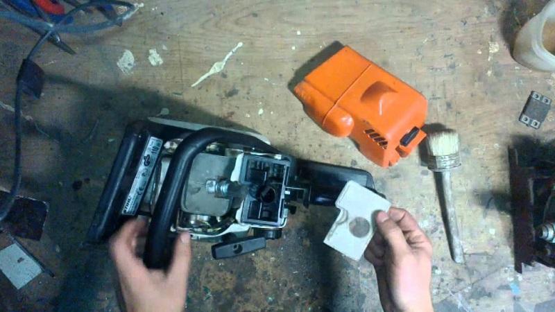 Ремонт бензопилы штиль: stihl ms 180, неисправности, заливает свечу, замена шнура стартера, своими руками, не смазывается цепь, как разобрать, устройство, почему не развивает обороты, как снять сцепление, замена масляного насоса, не запускается