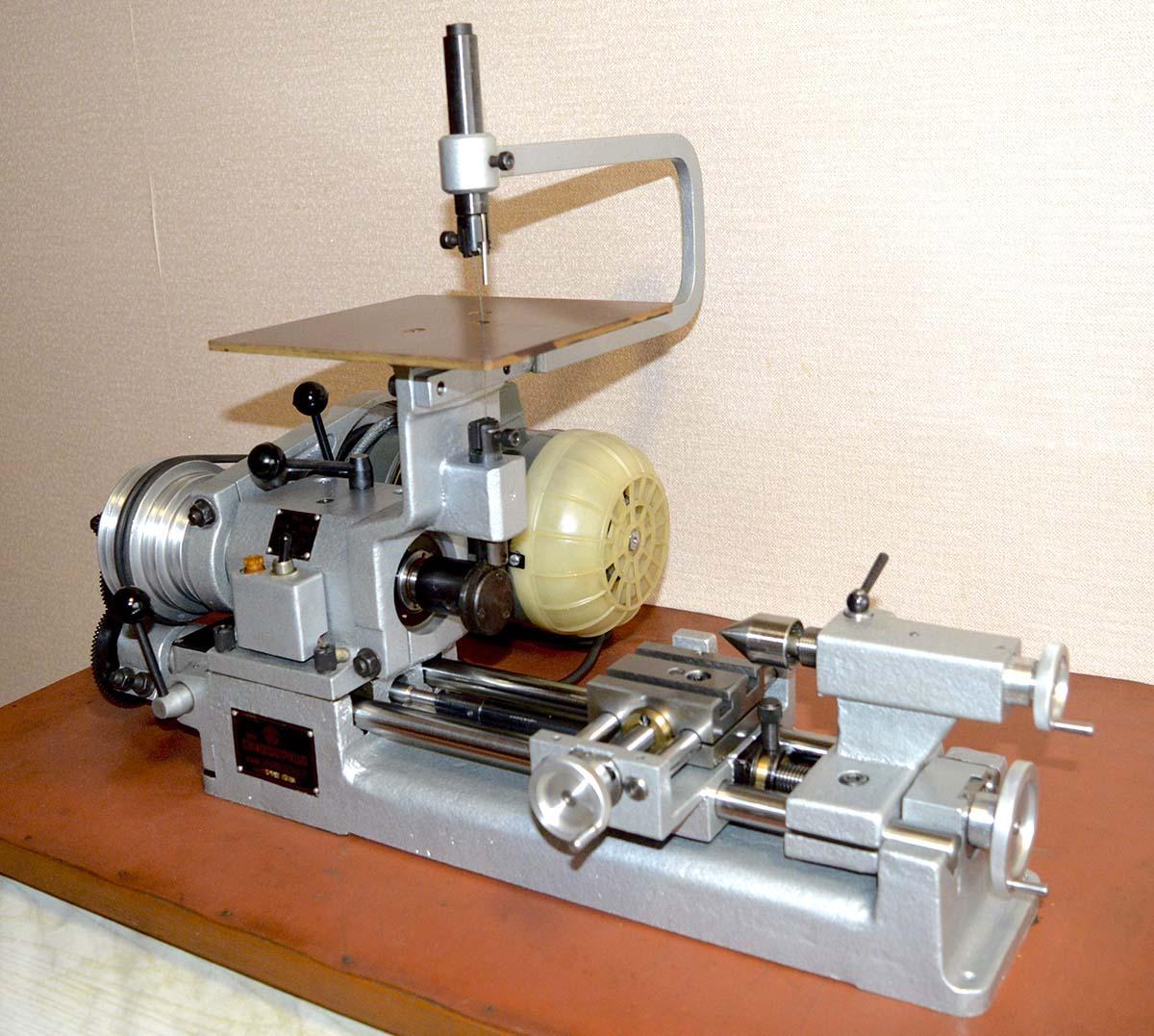 Токарный станок универсал 2 и 3 модификации: основные технические характеристики