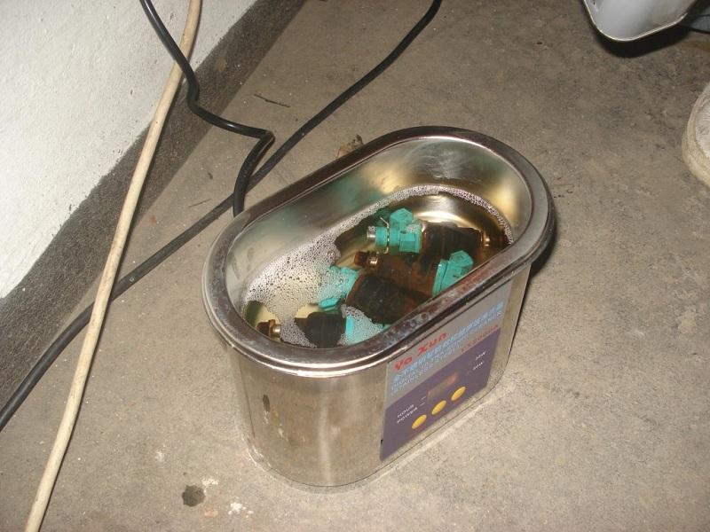 Ультразвуковая ванна своими руками для чистки форсунок - токарь