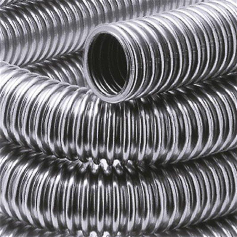 Гофрированная труба из нержавеющей стали: виды и характеристики