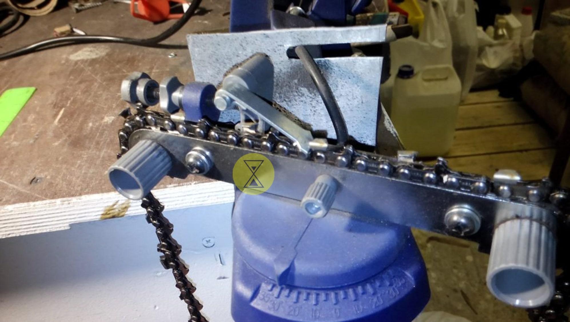 Самодельный заточной станок для цепей бензопил