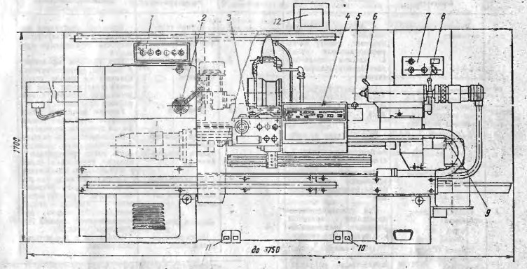 Токарный станок с чпу 16к20ф3: конструкция, работа, варианты