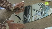 Как отрезать зеркало