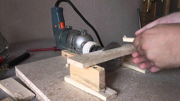 Как сделать фрезер из дрели своими руками
