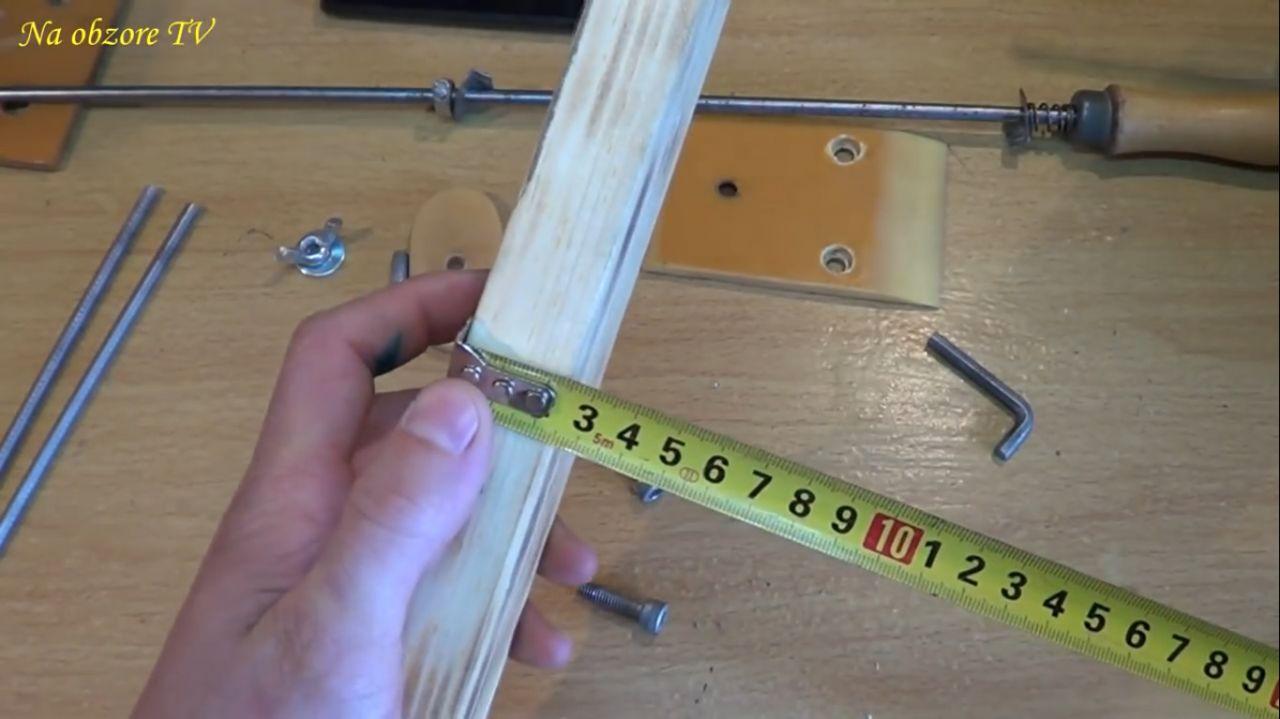 Приспособление для заточки ножей своими руками: чертежи