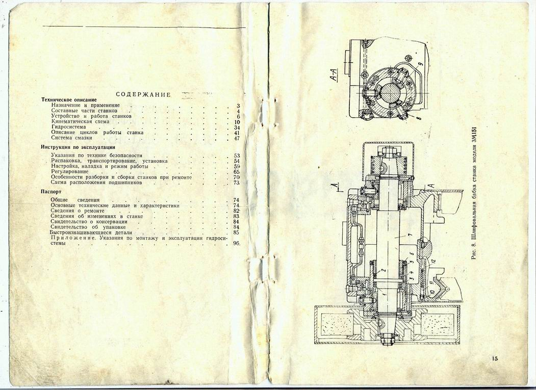 Тш-3 станок точильно-шлифовальный на тумбе  схемы, описание, характеристики