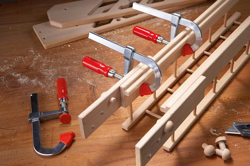 Как сделать струбцины из дерева, фанеры, металла