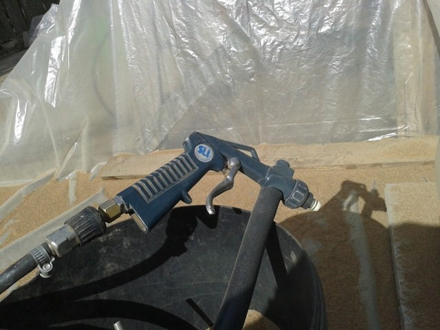 Какой компрессор нужен для пескоструя? особенности выбора
