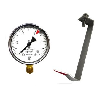 Можно ли манометр устанавливать горизонтально. как установить манометр для измерения давления воды на водопровод. способ установки прямым путем