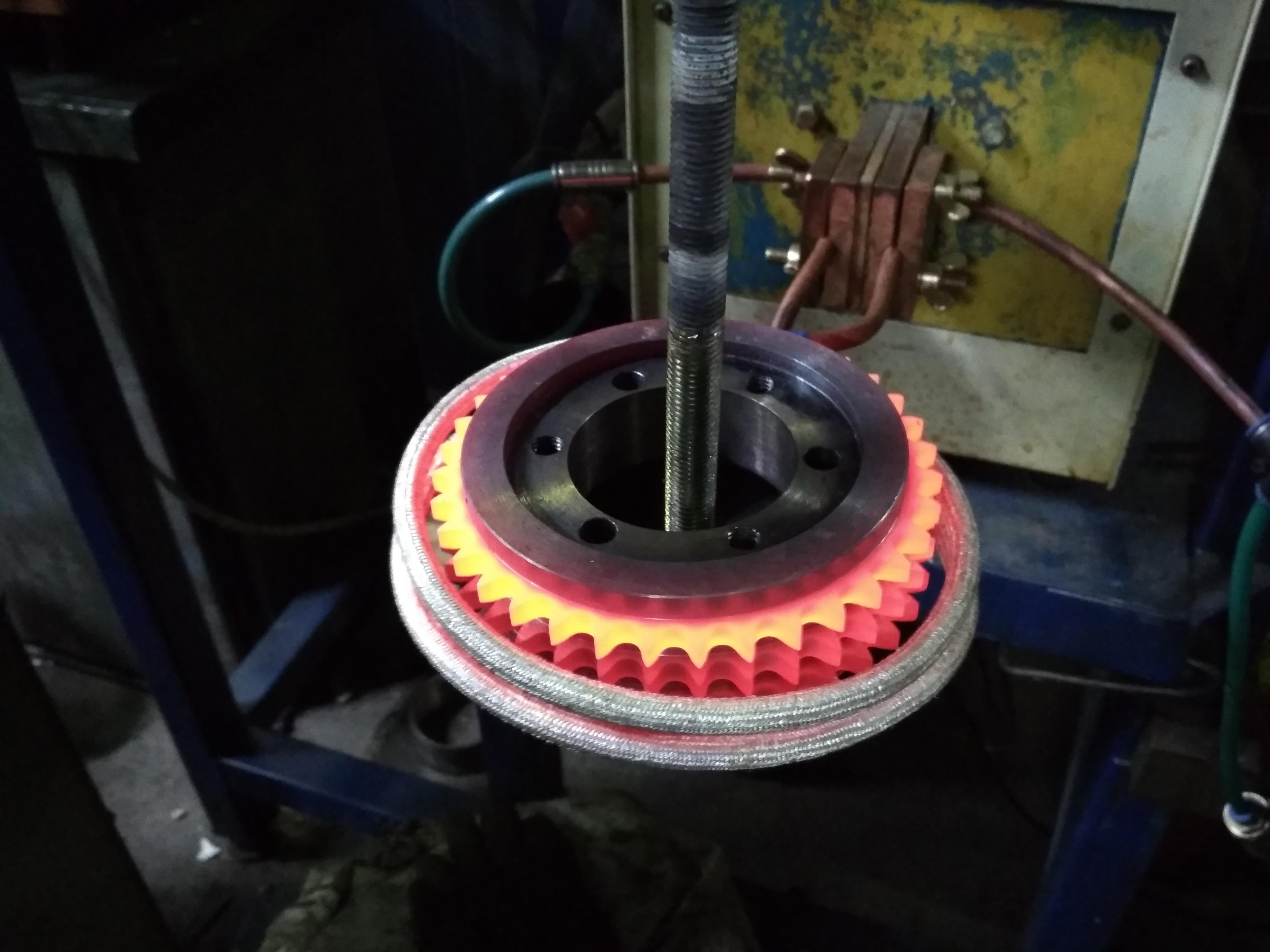 Закалка металлов токами высокой частоты