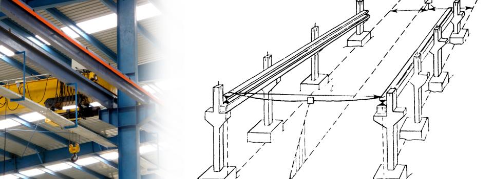 Как правильно выполнять монтаж мостовых опорных кранов?