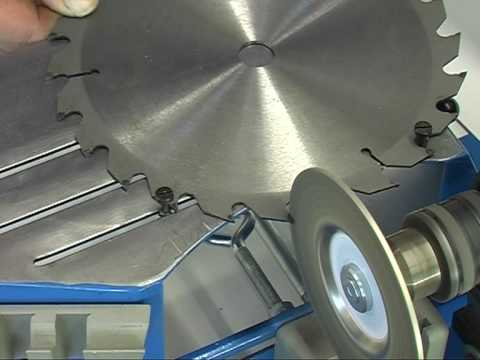Заточка твердосплавных дисковых пил: методы, инструменты