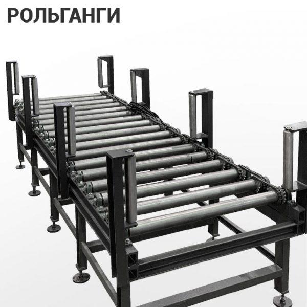Рольганги (роликовые конвейеры)
