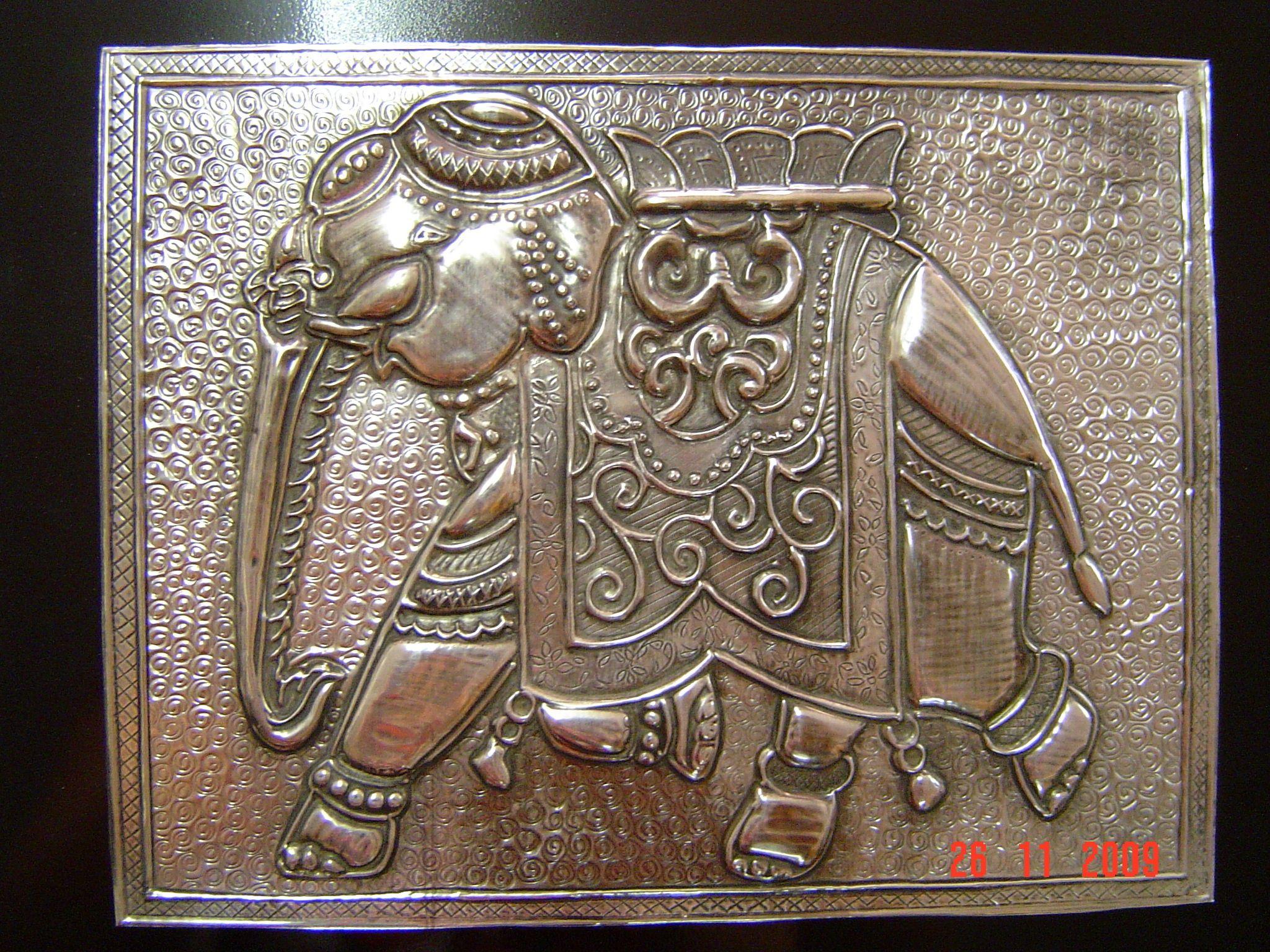 Чеканка по металлу своими руками для детей - о металле