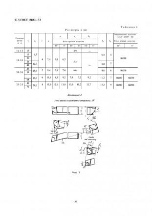 Гост резцы токарные фасочные из быстрорежущей стали 18875—73 конструкция и размеры взамен hss chamfering turning tools. гост 10043—62 в части1