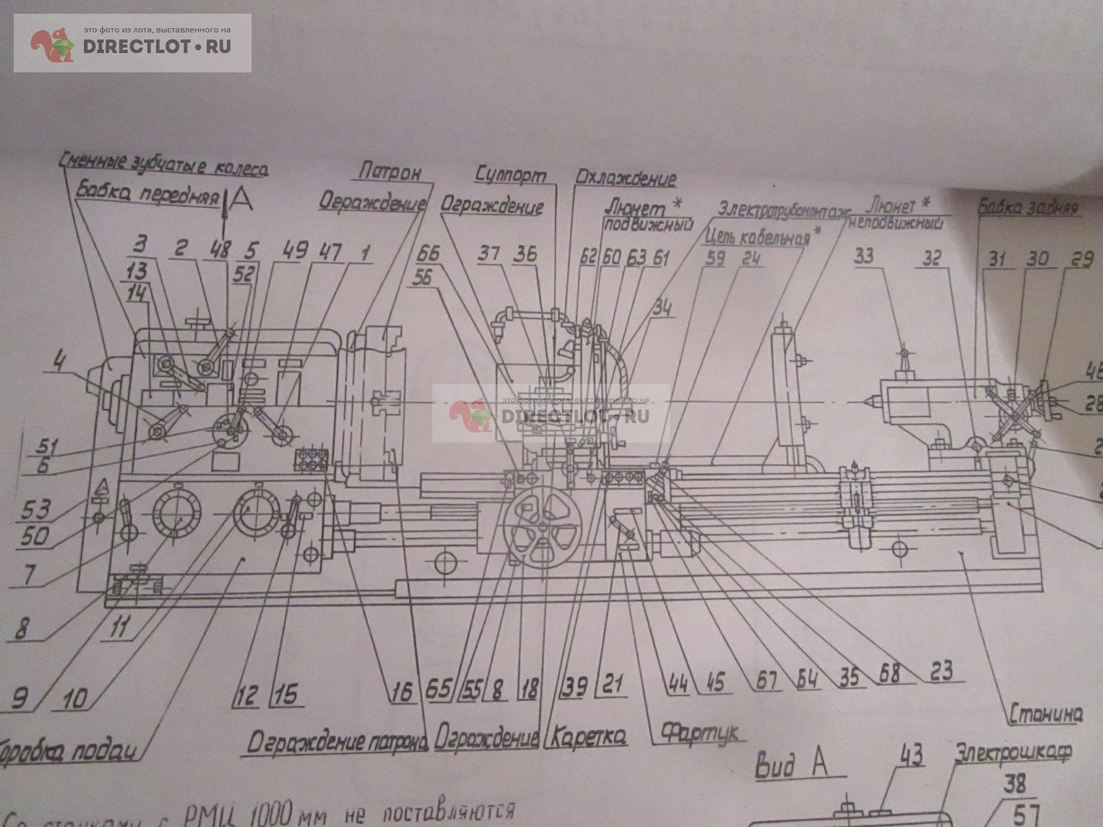 1м63. токарно-винторезный станок. паспорт, характеристики, схема, руководство