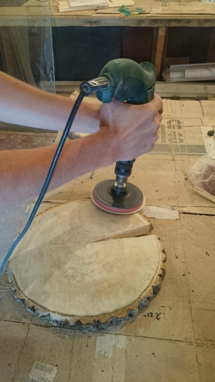 Шлифование и полировка дерева в домашних условиях