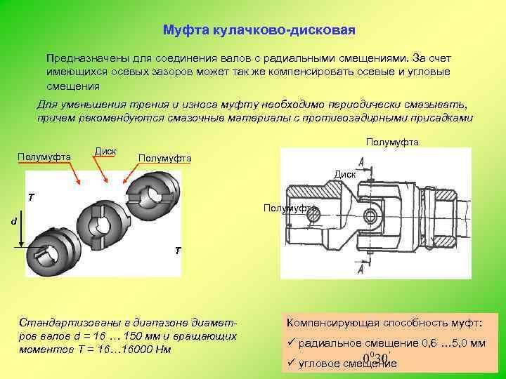 Кулачковая муфта: конструкция, классификация, подбор - токарь