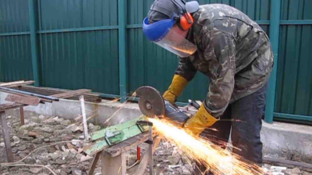 Как правильно работать болгаркой и обрабатывать различные материалы при помощи ушм