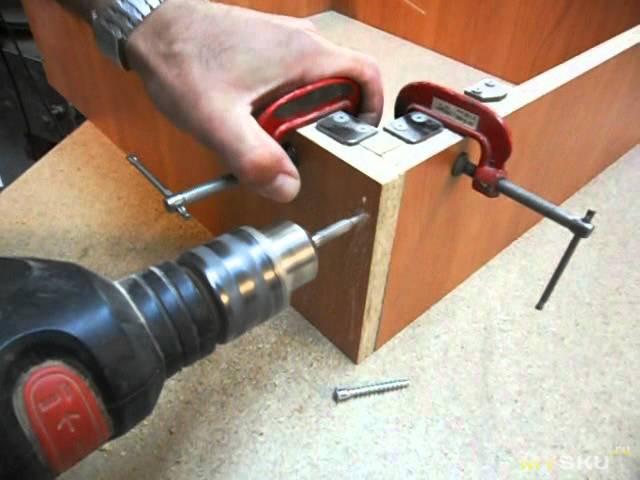 Струбцина своими руками из металла: способы изготовления, чертежи