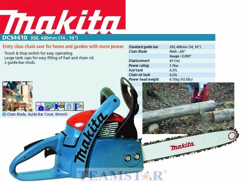 Бензопила makita dcs4610-36/40: характеристики, отзывы, цена, аналоги
