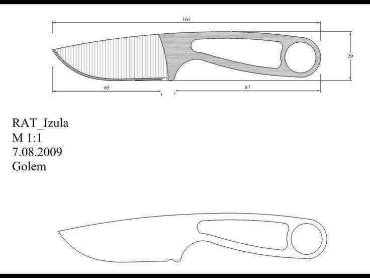 Как сделать нож: этапы изготовления с фото и чертежами