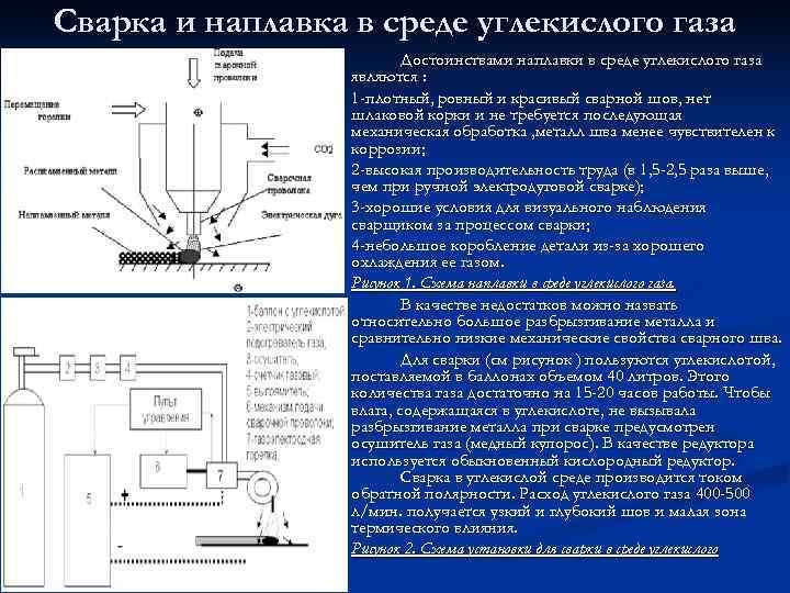 Полуавтоматическая сварка в среде защитных газов