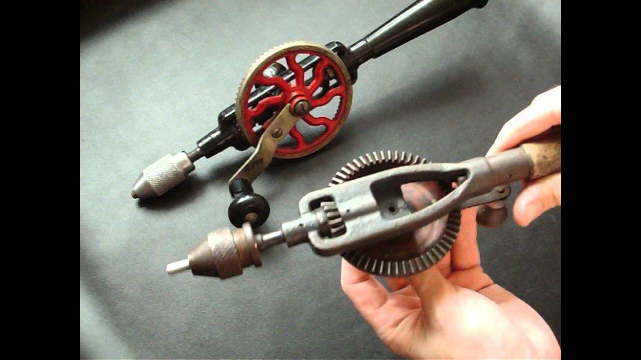 3 идеи: что сделать из старой ручной дрели советских времен