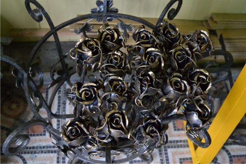 Кованые цветы, кованые растения, цены на кованые цветы, фото кованых цветов