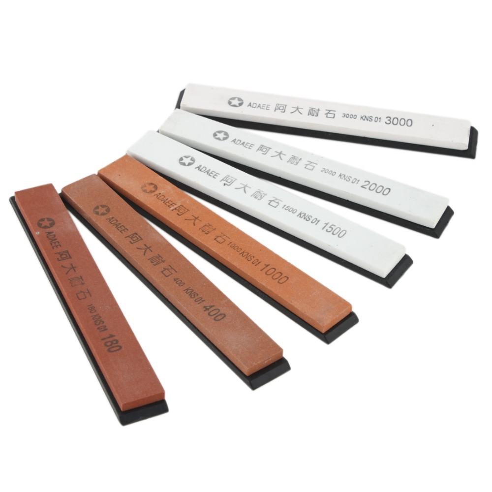 Камни для заточки ножей: разновидности точильных брусков