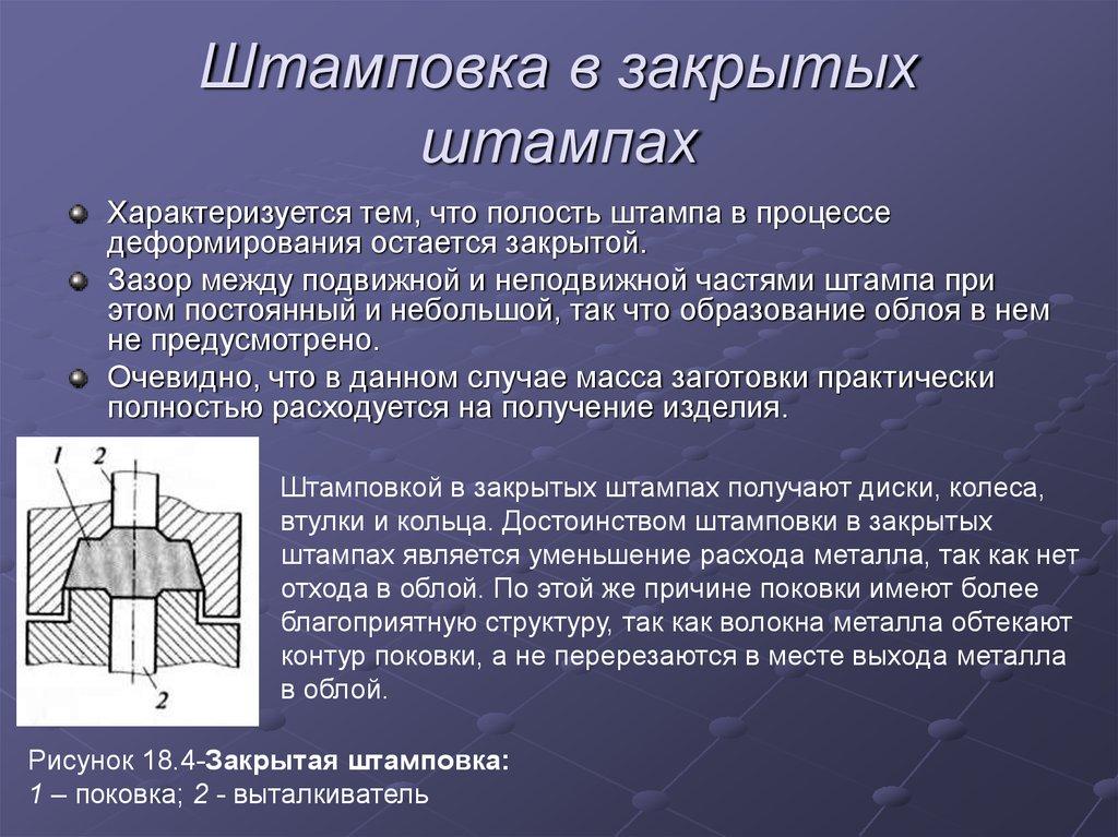 Горячая объемная штамповка металла – сущность процесса | мк-союз.рф