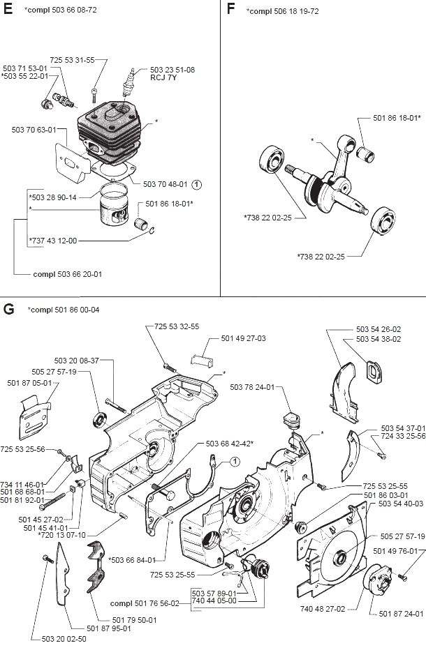 Бензопила хускварна (husqvarna) 137 — ремонт, характеристики