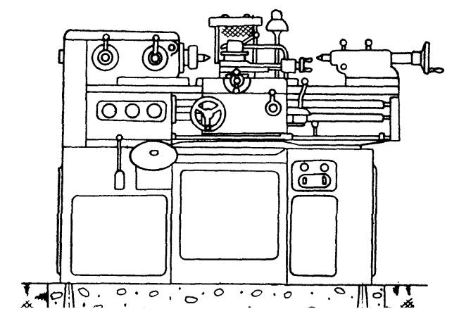 Токарно винторезный станок 1п611