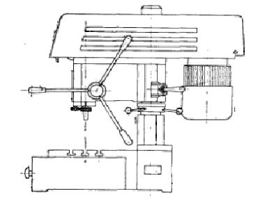 2м112 станок сверлильный настольный описание, характеристики, схемы