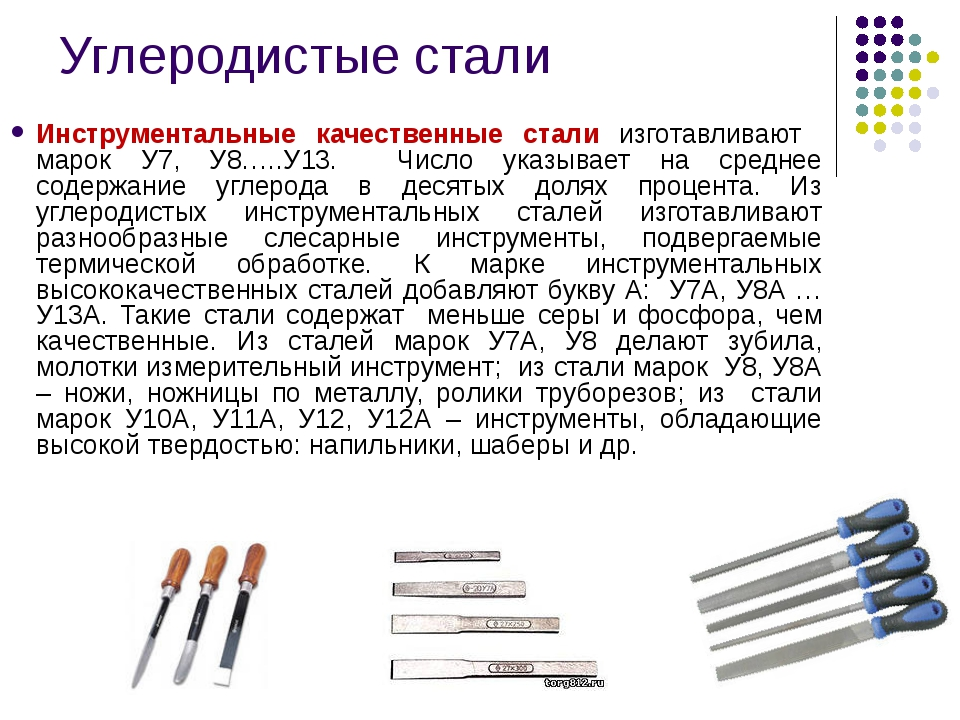28.конструкционные и инструментальные углеродистые стали. маркировка, применение
