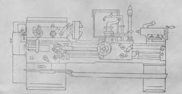 Токарный станок 1к62: устройство и управление, технические характеристики