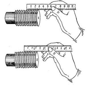 Как узнать шаг резьбы штангенциркулем - moy-instrument.ru - обзор инструмента и техники
